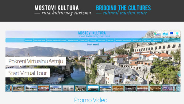 Bridging the Cultures - Mostar promo video